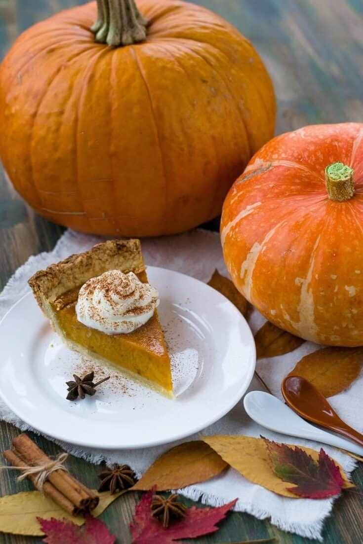 The World's Best Dairy-Free Pumpkin Pie