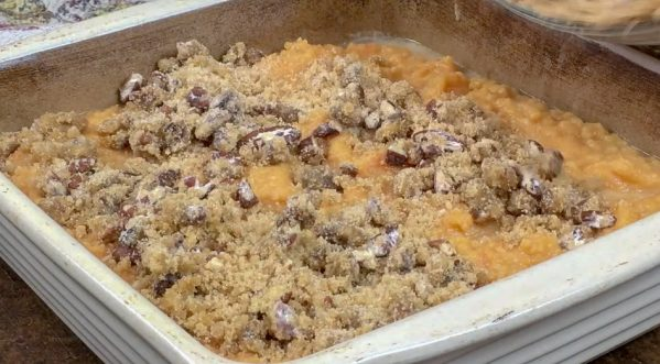 Picture of sweet potato casserole