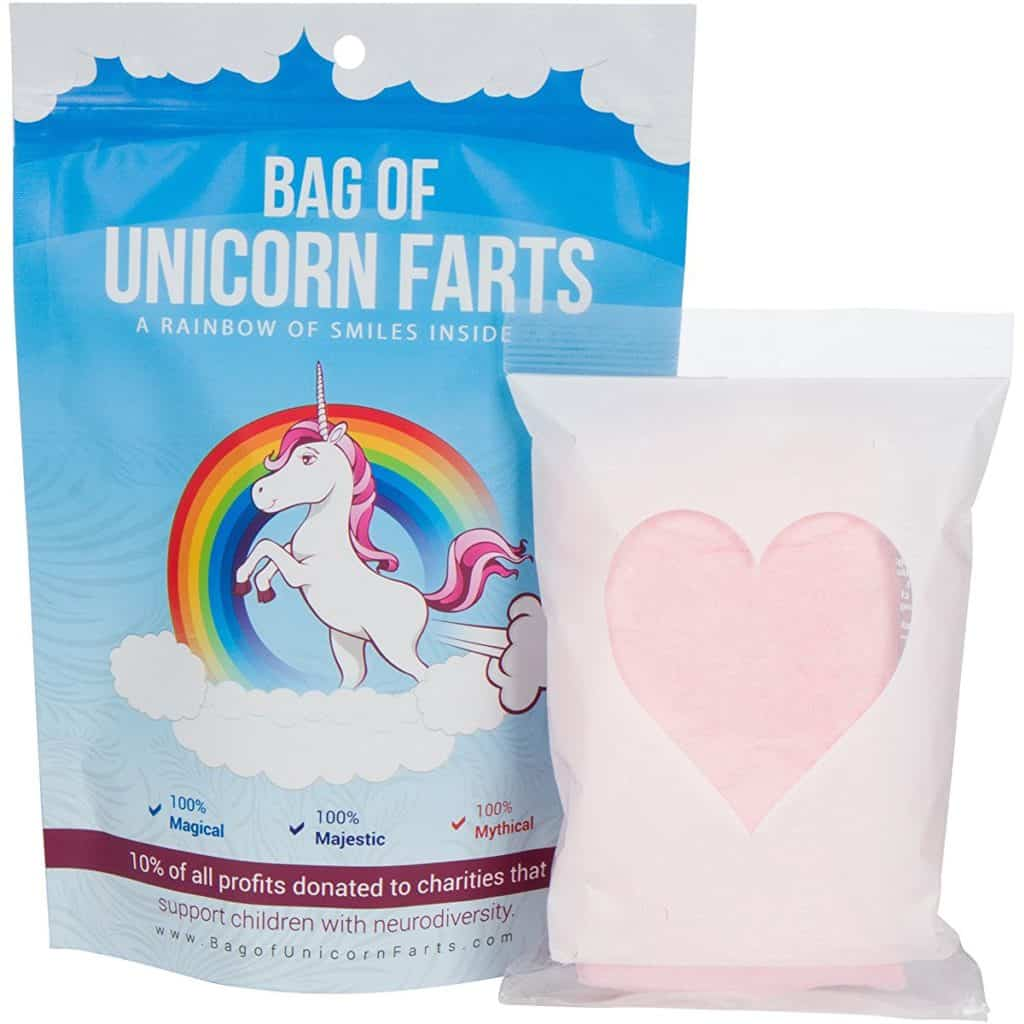 Yes, it's true. Unicorn Farts make a great gift or stocking stuffer for anyone at any age!
