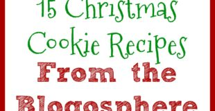 15 Christmas Cookies from around the blogosphere.