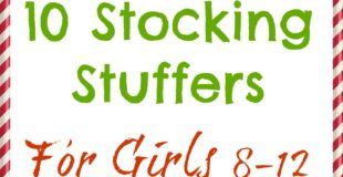 10 Stocking Stuffers for Girls