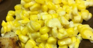This is a gluten-free version of cream corn. It's a flavorful recipe that's easy and quick to make.