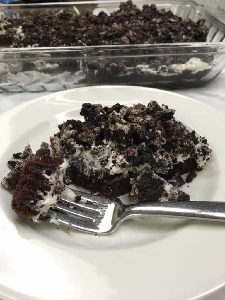 It you love Oreo's, you are going to love this dessert. It's easy to make if you're in a rush, and a delicious treat.