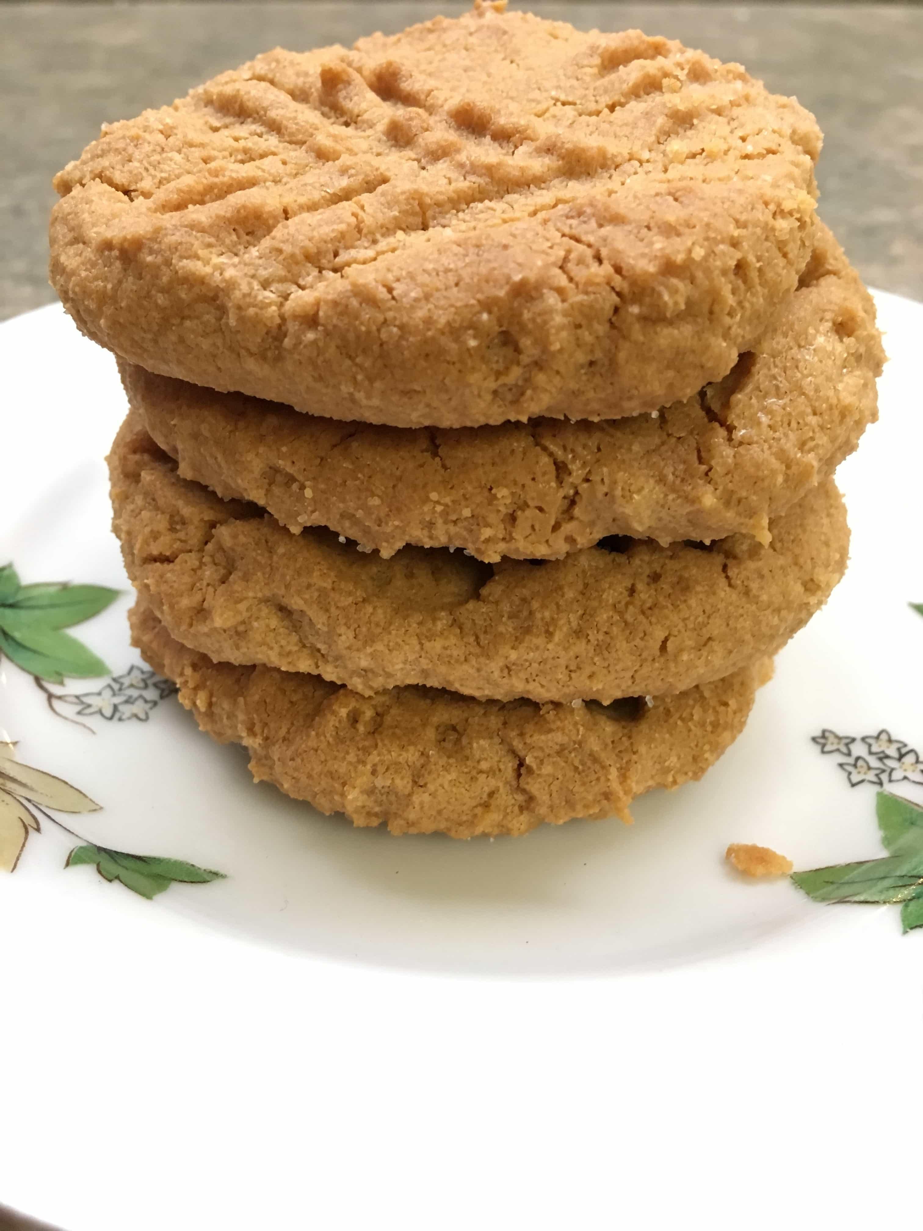 The Easiest Gluten-Free Peanut Butter Cookies Around