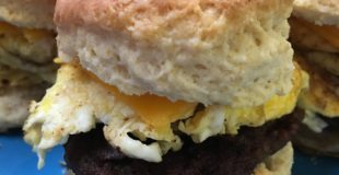 If you're looking for an easy breakfast biscuit sandwich to make. these are the perfect on-the-go meal.
