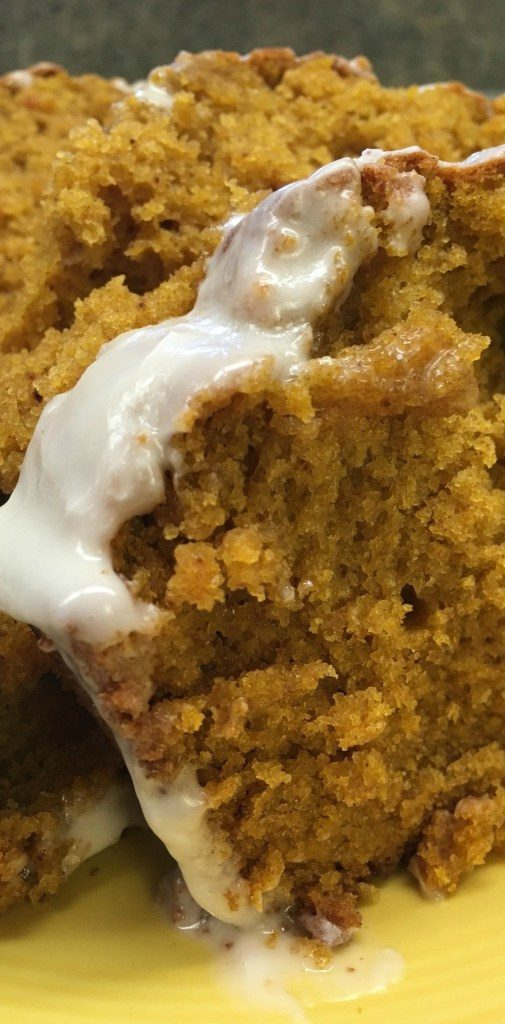 Pumpkin Bread with Maple Cream Icing - Back to My Southern Roots