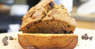This easy and moist pumpkin bread recipe is made from scratch.