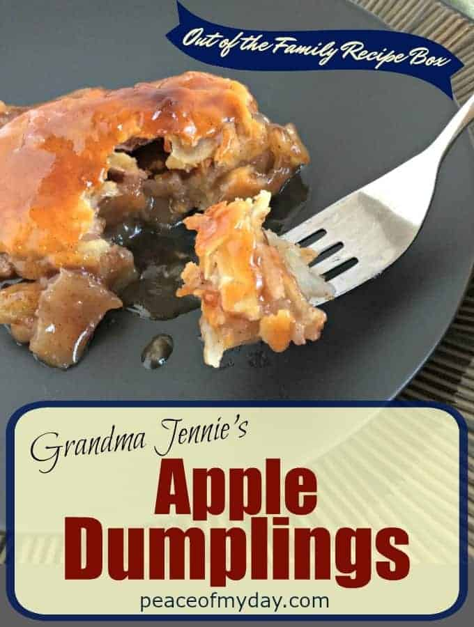 Grandma Jennies Apple Dumplings