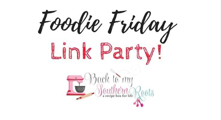 Join the Link Party at Back To My Southern Roots and grab or leave some great recipes.