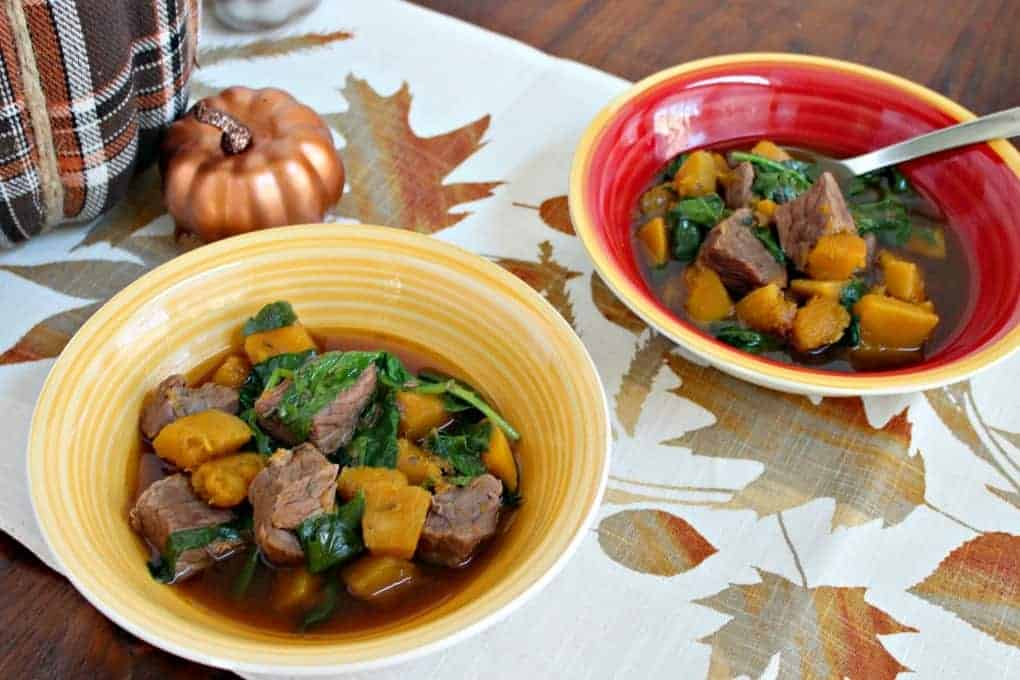 Beef Butternut Squash Soup