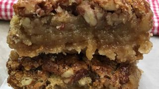 Pecan Pie Bars - A Thanksgiving and Christmas Treat