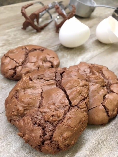 Easy Double Chocolate Chip Cookies are a delicious and rich treat. I have made these for holiday cookie exchange parties and won! This dessert is a wonderful treat and great gift for friends, teachers, and neighbors.