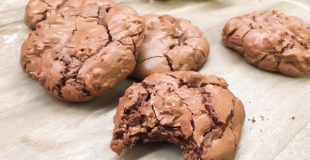 Easy Double Chocolate Chip Cookies are the perfect dessert for any occasion. They are perfect for cookie exchanges, and gifts. They are made from scratch and have a rich flavor. The homemade double chocolate chip cookies are a delicious dessert.