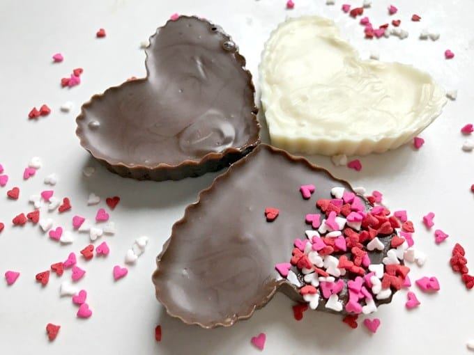How To Make Homemade Chocolate Heart Candies - Crafting A Family