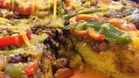 Easy Chili Cornbread Skillet Meal