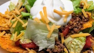 Easy Dorito Taco Salad