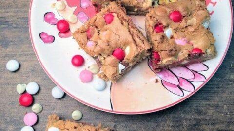 Valentine's Day Blondies Recipe