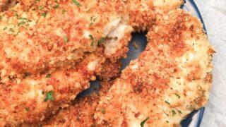 Baked Buttermilk Chicken Strips