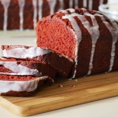 Red Velvet Banana Bread - Marilyn's Treats