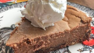 Sweetened Condensed Milk Chocolate Pie