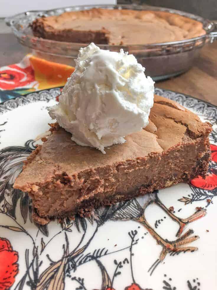 Sweetened Condensed Milk Chocolate Pie - Back To My ...