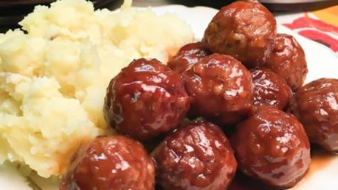 Easy Crock Pot Meatball Recipe