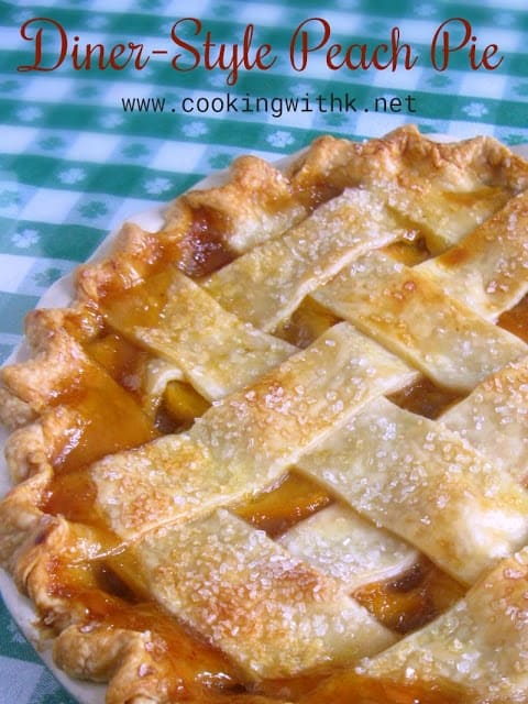 Perfect Peach Pie (A Southern Classic) - Cooking With K