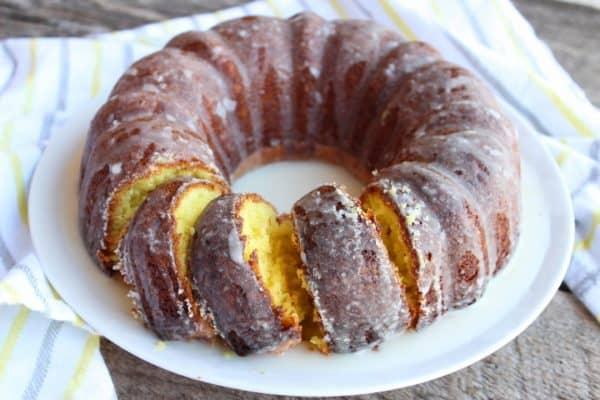Lemon Bundt Cake with a Lemon Glaze