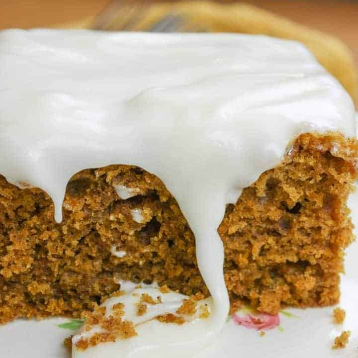 This easy pumpkin bars with cream cheese is one of the easiest pumpkin desserts out there.