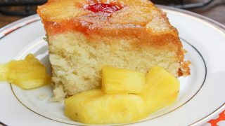 Homemade Pineapple Upside Down Cake