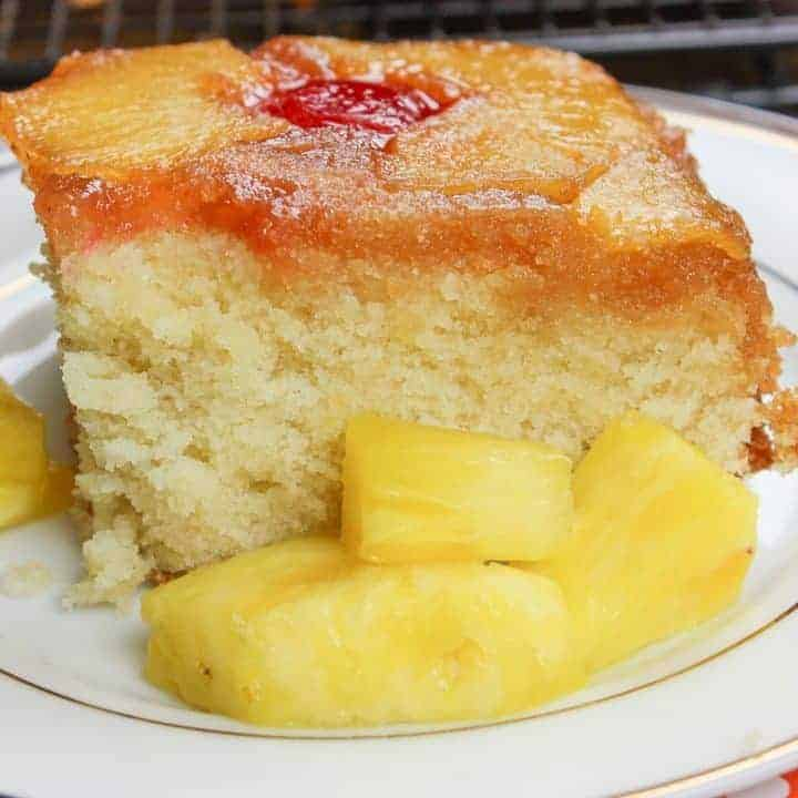 Homemade Pineapple Upside Down Cake is a delicious and easy recipe.