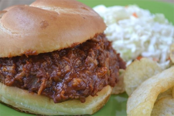 Instant Pot 3-Ingredient Pulled Pork from Fluster Buster