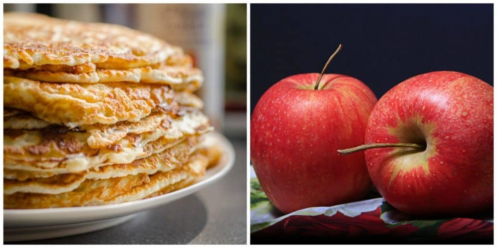 Oatmeal Apple Pancakes from Your Yum Recipes