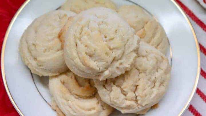 Amish Butter Cookies