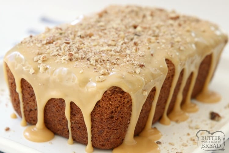 Picture of caramel bread