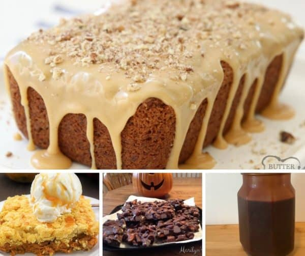 Picture of four different recipes.