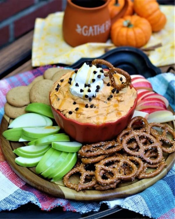 Picture of Pumpkin butterscotch dip