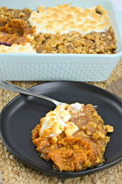 Picture of His and Her Sweet Potato Casserole