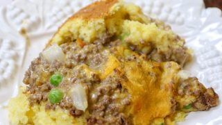 Jiffy Cheeseburger Casserole