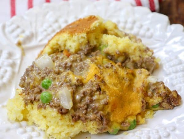 Picture of cheeseburger casserole