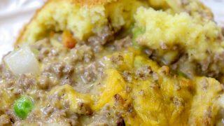 Jiffy Cheeseburger Casserole