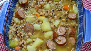 Black-Eyed Pea Soup with Sausage