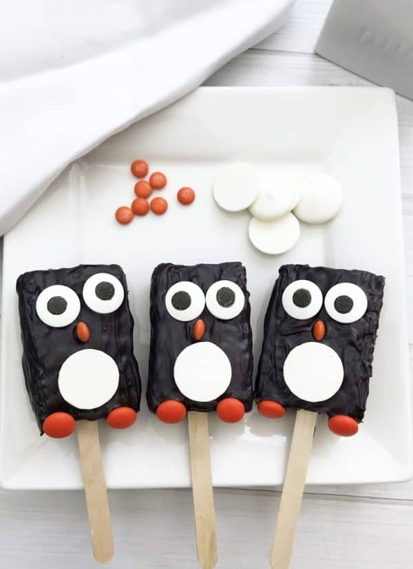 Picture of Penguin Rice Krispie Treats