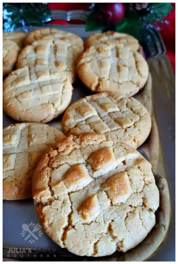 Picture of Grandma's Old Fashioned Peanut Butter Cookies