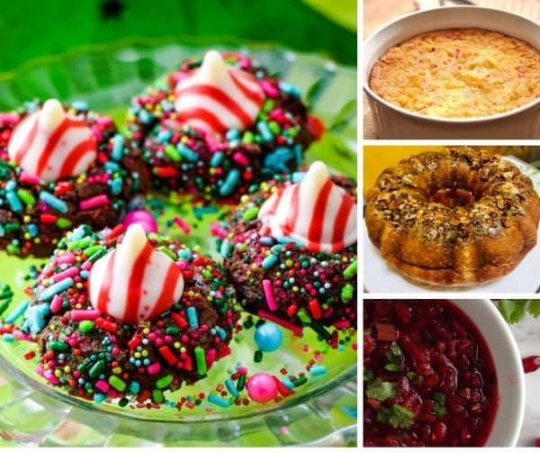 Picture of four different foods