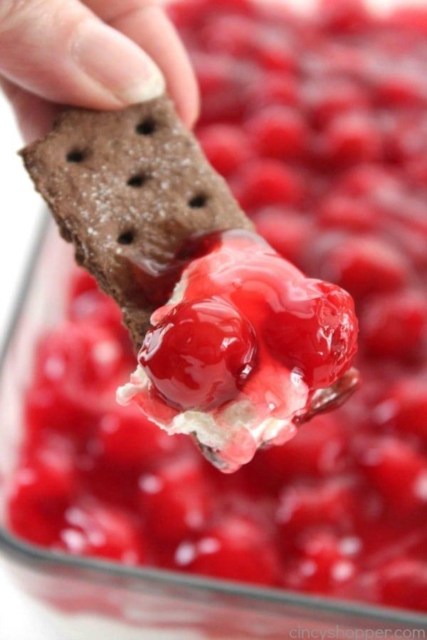 Cherry Cheesecake Dip - Cincy Shopper