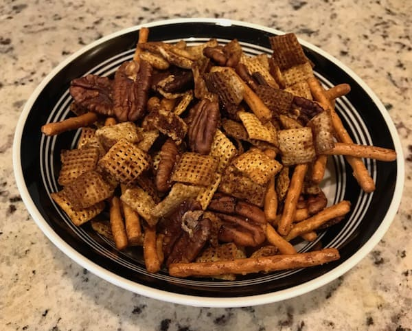 Chex Party Mix – Gluten-Free and Spicy - Southern Home Express