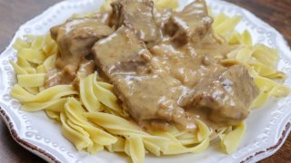 Creamy Beef and Noodles