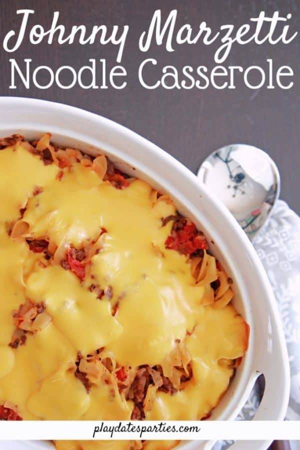 Picture of noodle casserole
