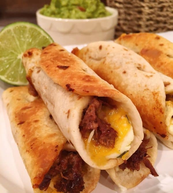 Picture of Oven Fried Mini Beef Flautas